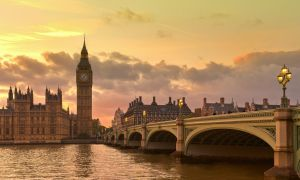 Big Ben at Sunset by AlexGutkin