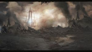 Diablo 3 Act 4 Wallpaper by Arixev