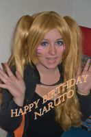 Happy Birthday naruto by narutine