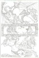 Red Sonja Page 3 by Harpokrates