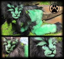 SOLD Vedis the forest guardian lion! by CreaturesofNat