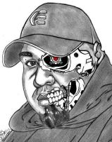 Terminator Self Portrait by AudioHomicide