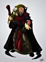 Comission-Warlock by b-cesar
