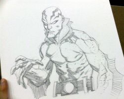 BCC 2010 Abe Sapien sketch by RyanOttley