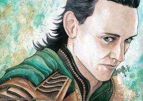 Loki Laufeyson by Si3art