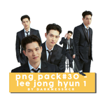 PNG Pack#30 - Lee Jong Hyun 1 by darknesshcr
