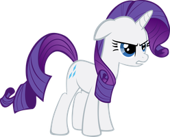 Rarity - I'M ANGRY AND YOU KNOW IT! by NimbusThePoni