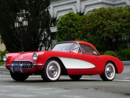 1957 Corvette by wbmj-photo