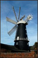 Heckinghton Windmill by sags