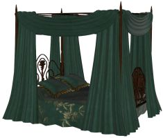 WIP - Canopy Bed by shaunapallas