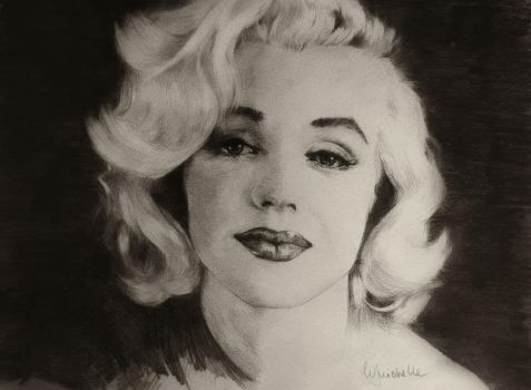 Marilyn Monroe by Michelle-Winer