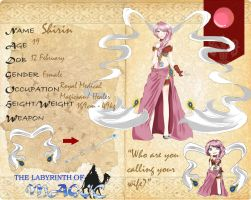 LoM: Shirin's Application by WhiteTiger97