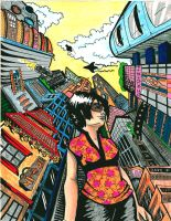 Miomi - In the City by crazy-fae