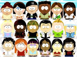 SOUTHPARK FRI3NDS by CHRISTYsoCUTE