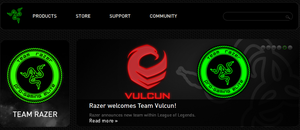 Razer Welcomes Team Vulcun by roflwaffle07