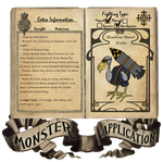Shadow Beast Dodo Monster App by SonicEdge7