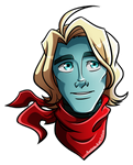 Wes Sticker by Aelith-Earfalas
