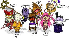 Chibi Collection by Enigma-Thirteen