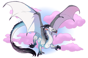 KazultheDragon [Sticker Comm] by May-Ya