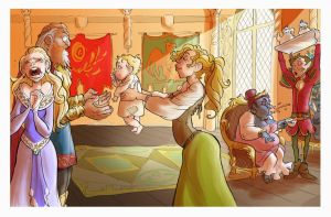 Asgardian snapshots: Odin, you cad! by Iulie-O