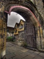 Priory Gate, Winchester by Dogbytes