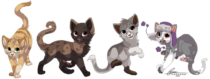 Adoptable commissions by Kamirah
