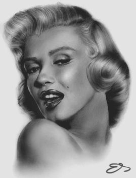 Marilyn Monroe by TheEndlessRiver