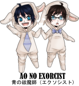 Exorcist Bunnies by firegirl6464