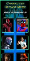 Character Recast Meme - Amazing Spiderman 2 by ErichGrooms3