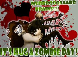 ITS HUG A ZOMBIE DAY by DJ88