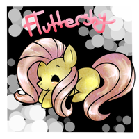 Fluttershy by pinkfrilly