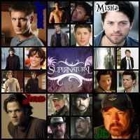 Supernatural Guys by MissMusicMartina