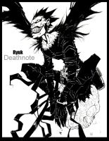 Ryuk of Deathnote by TheIronClown