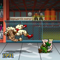 1991 - Street Fighter II: The World Warrior by Jiggeh