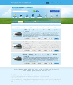 web2.0 Real Estate Template by palneera
