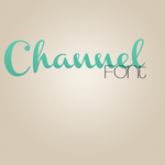 Channel Font by ZaaYBieber