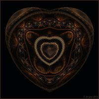 A Heart of Gems by Brigitte-Fredensborg