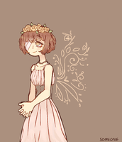 flower crown by Someone-chan