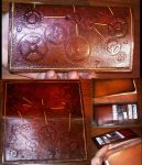 Steampunk Checkbook Wallet by Steampunked-Out