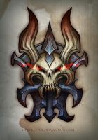 Shoulder armor piece by FirstKeeper