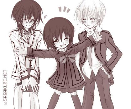 Vampire Knight -Love Love Trio by Sagakure