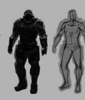 Armored suit WIP by vombavr