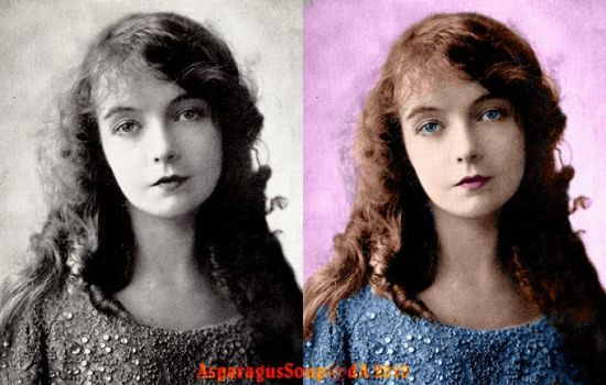 Lillian Gish colored - 'Doll' by AsparagusSoup