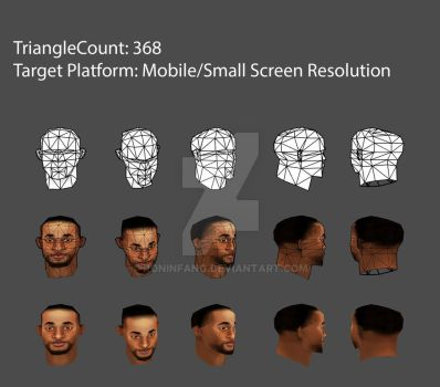 Low Poly Head Will Smith Upload by roninfang