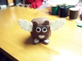 Moose Cube Plushie by Cube-lees