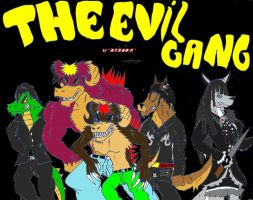 The Evil Gang by 6oi