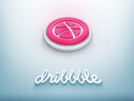 Dribbble Icon by Nexert
