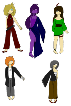 The New demigods (redesigned) by 3dsgirl577