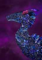 Tanzanite Dragon by pluto-my-way
