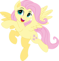 Fluttershy Yay by shaynelleLPS